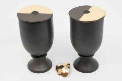 Table Sculptures #7 / 2018 / Wood, Clay, Foam, Clay Bronze, Corostone / $2000