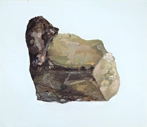 Patrick Dunford, Dump Pile Tungsten, 2016, Oil on Canvas, 14 x 16in.