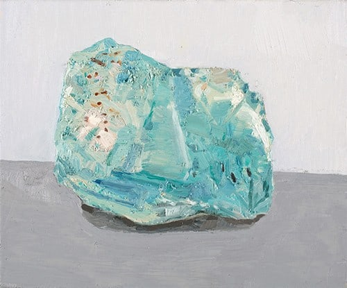 Patrick Dunford, Kyanite, 2018, Oil on Canvas, 10 x 12in.