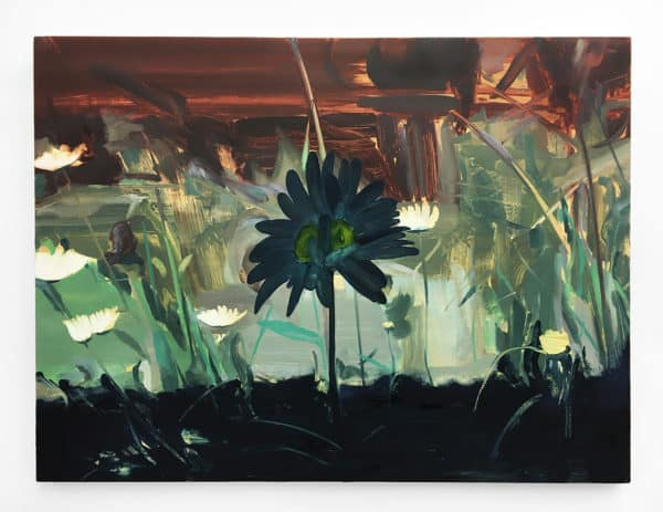 Burning Weeds / 2019 / 24 x 32 in. / oil on board