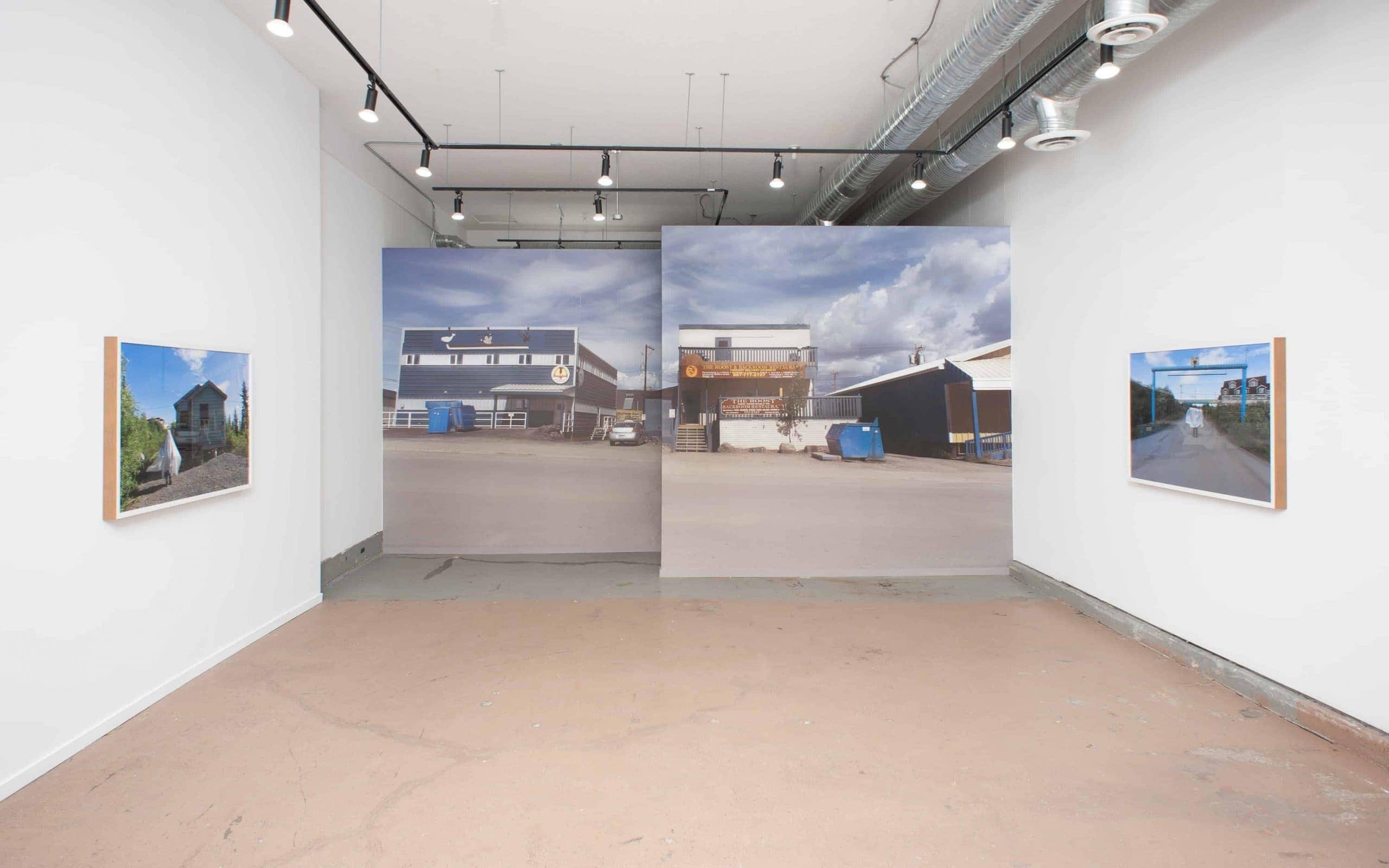 Kablusiak / Akunnirun Kuupak artwork collection viewing room