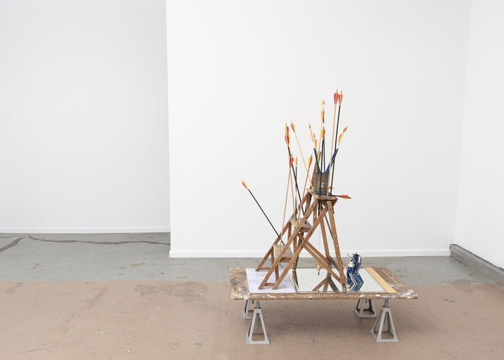 Bill Rodgers pilgrims ladder art work