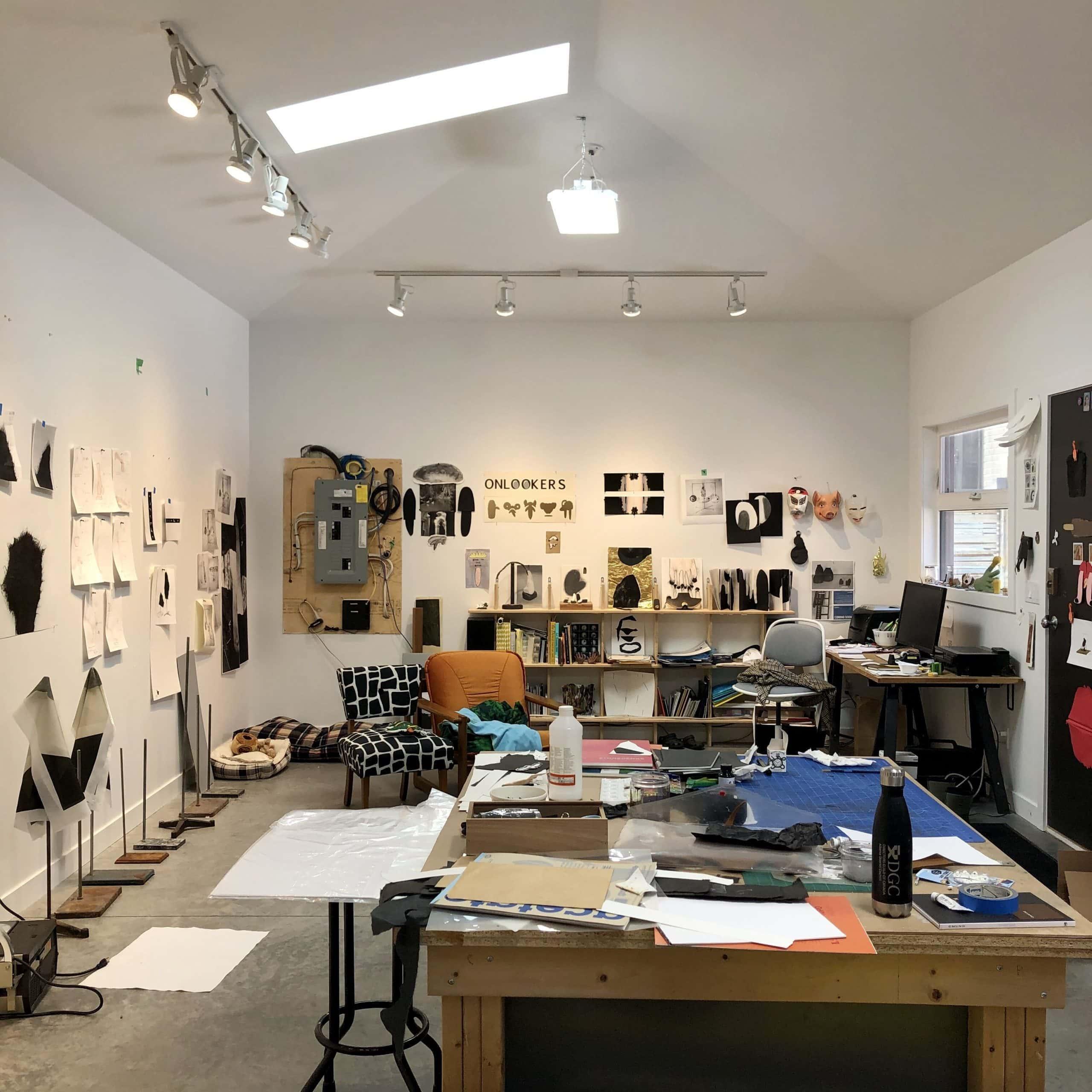 robin Arseneault , studio