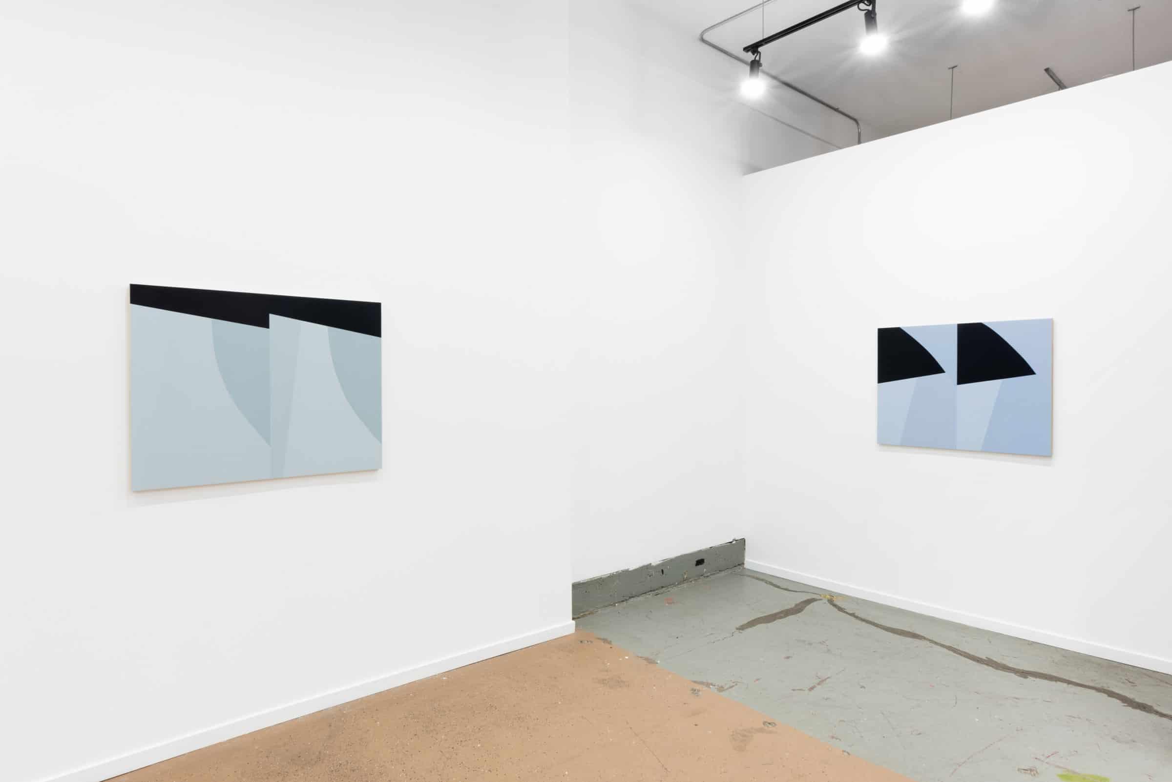 Larissa Tiggelers double bodied viewing room art exhibit